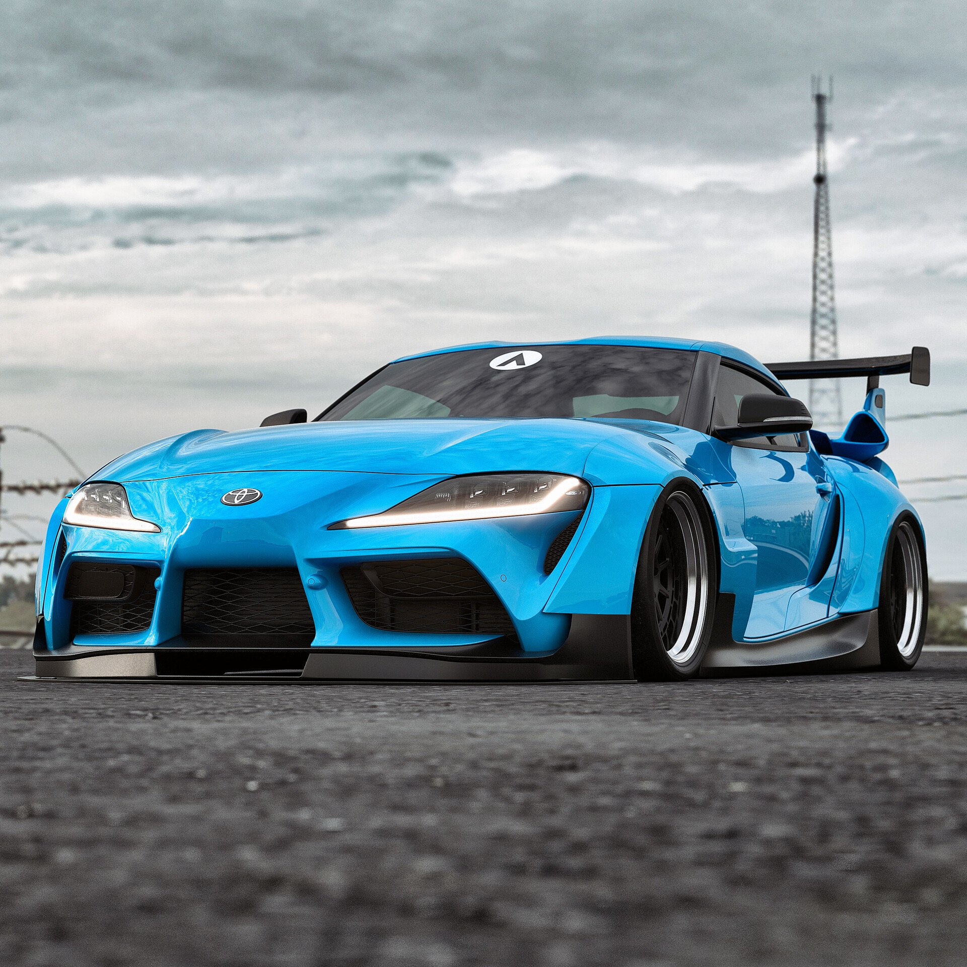 Toyota-Supra-Widebody-kit-renderings-1