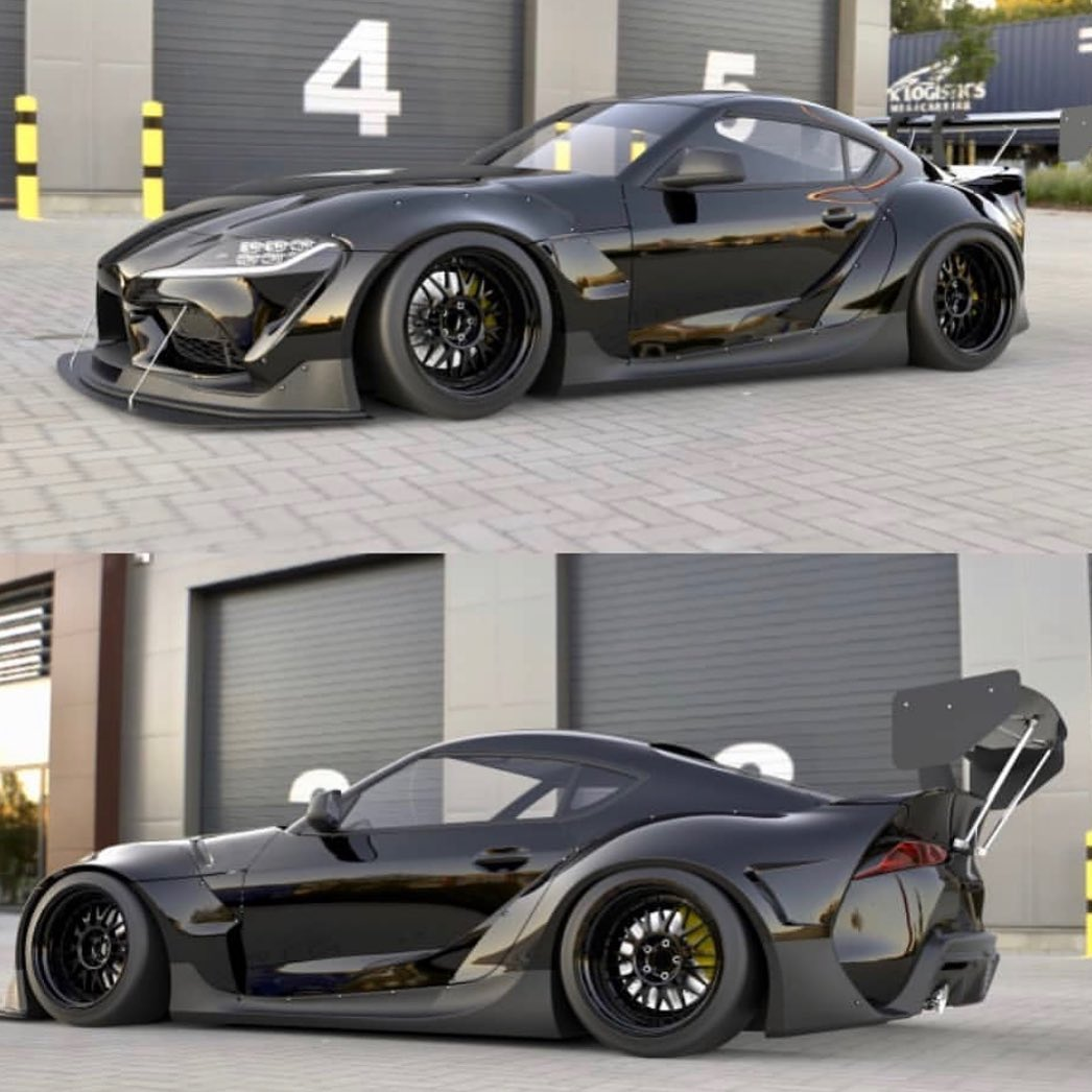 Toyota-Supra-with-Pandem-wide-bodykit-10