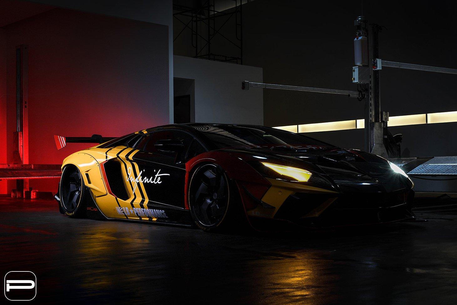 Lamborghini Aventador by Liberty Walk (5)