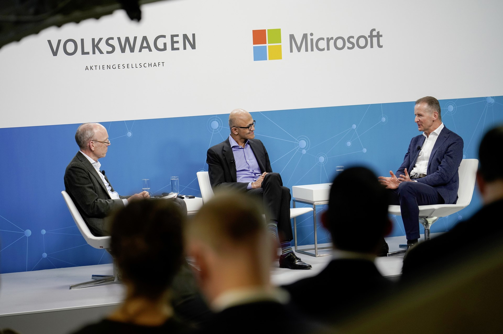 Volkswagen and Microsoft share progress on strategic partnership
