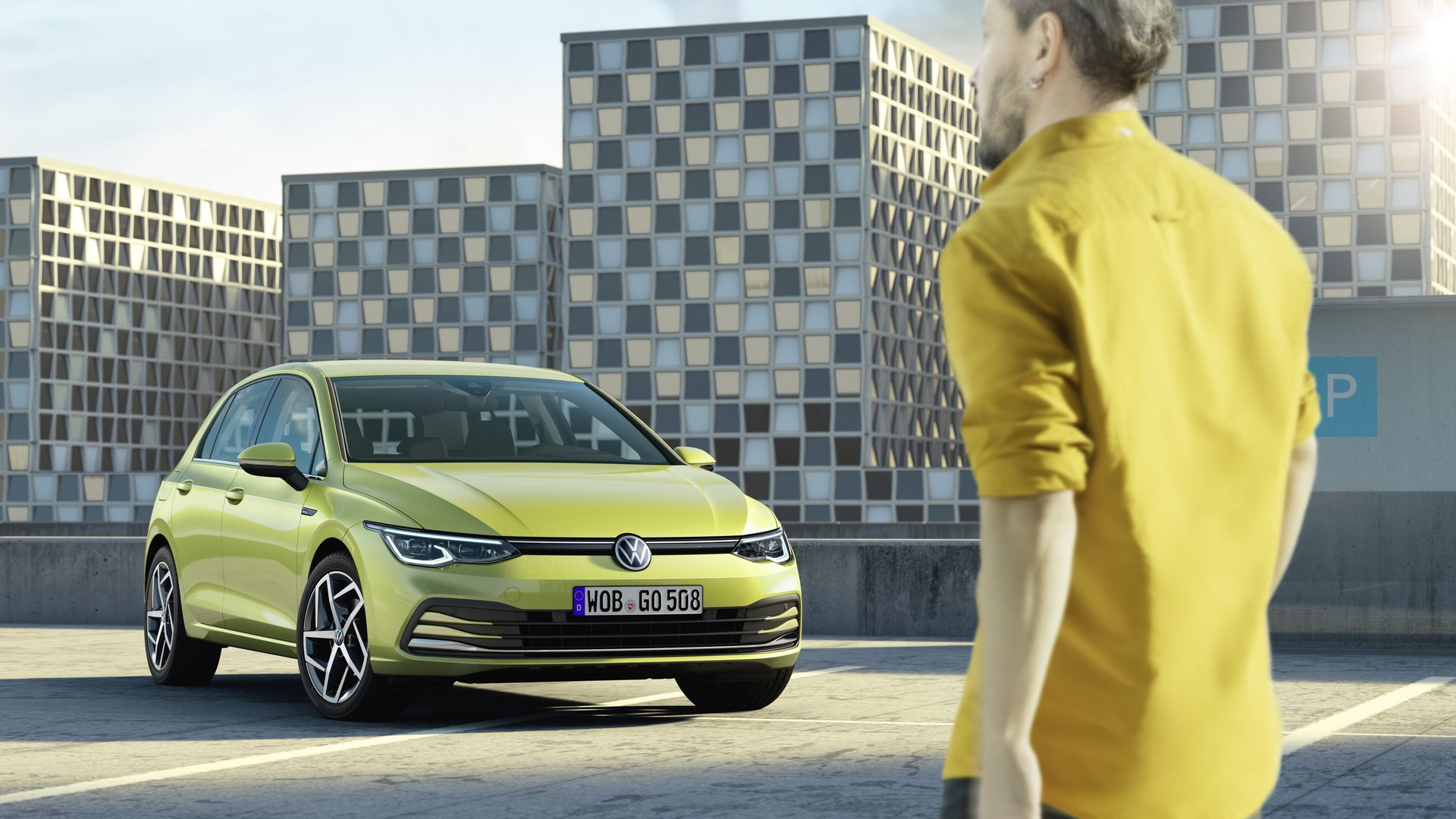 The new Volkswagen Golf