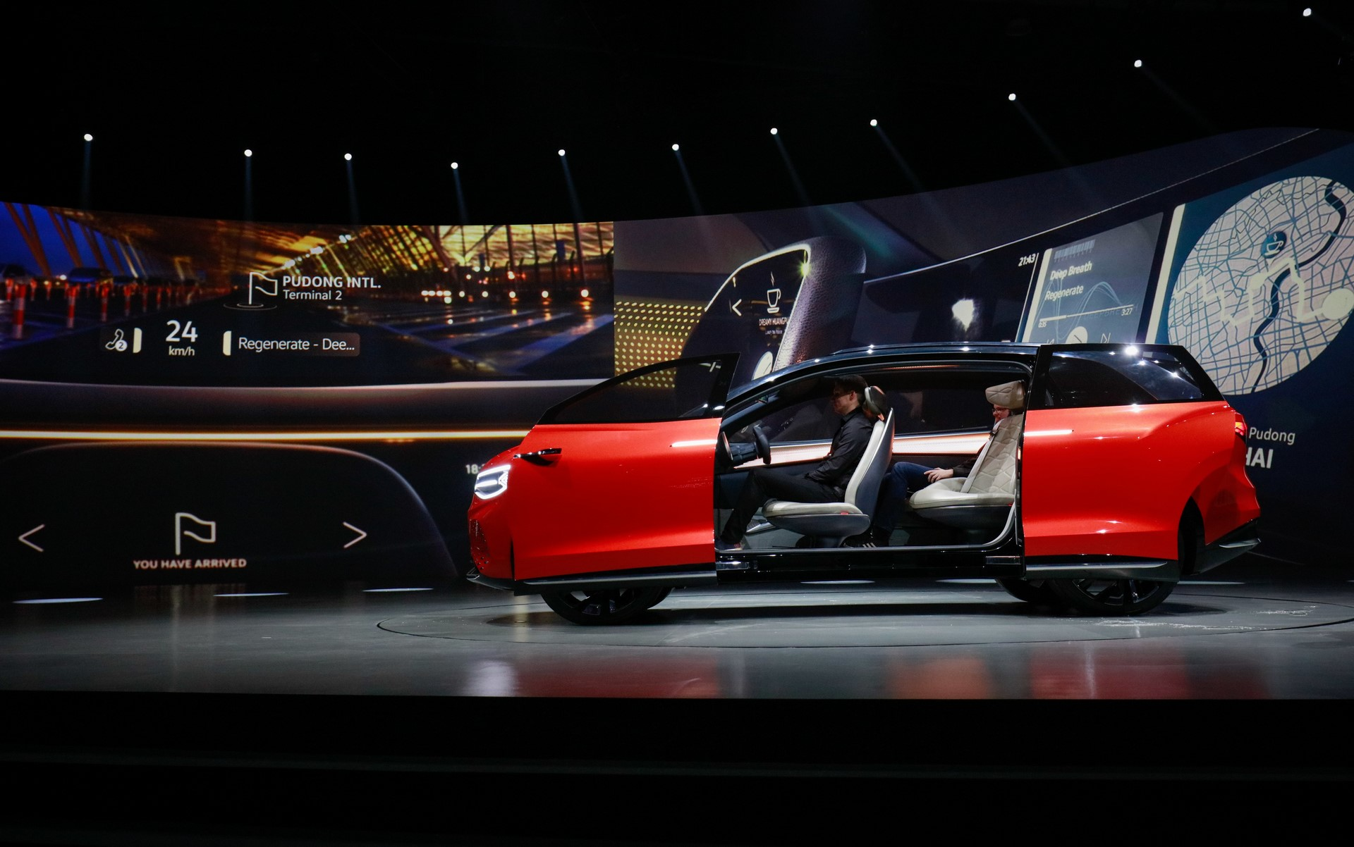 """World première of the ID. ROOMZZ at the """"Brand SUV Night"""", Auto Shanghai 2019"""