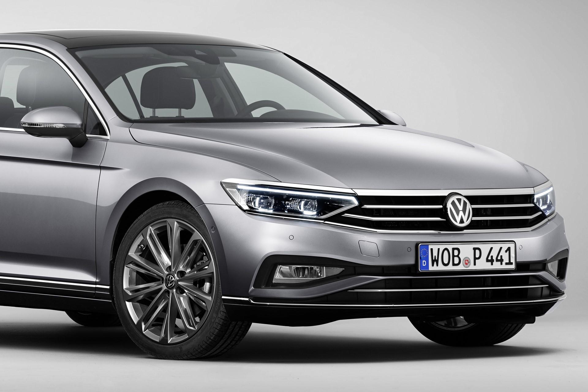 The new Volkswagen Passat