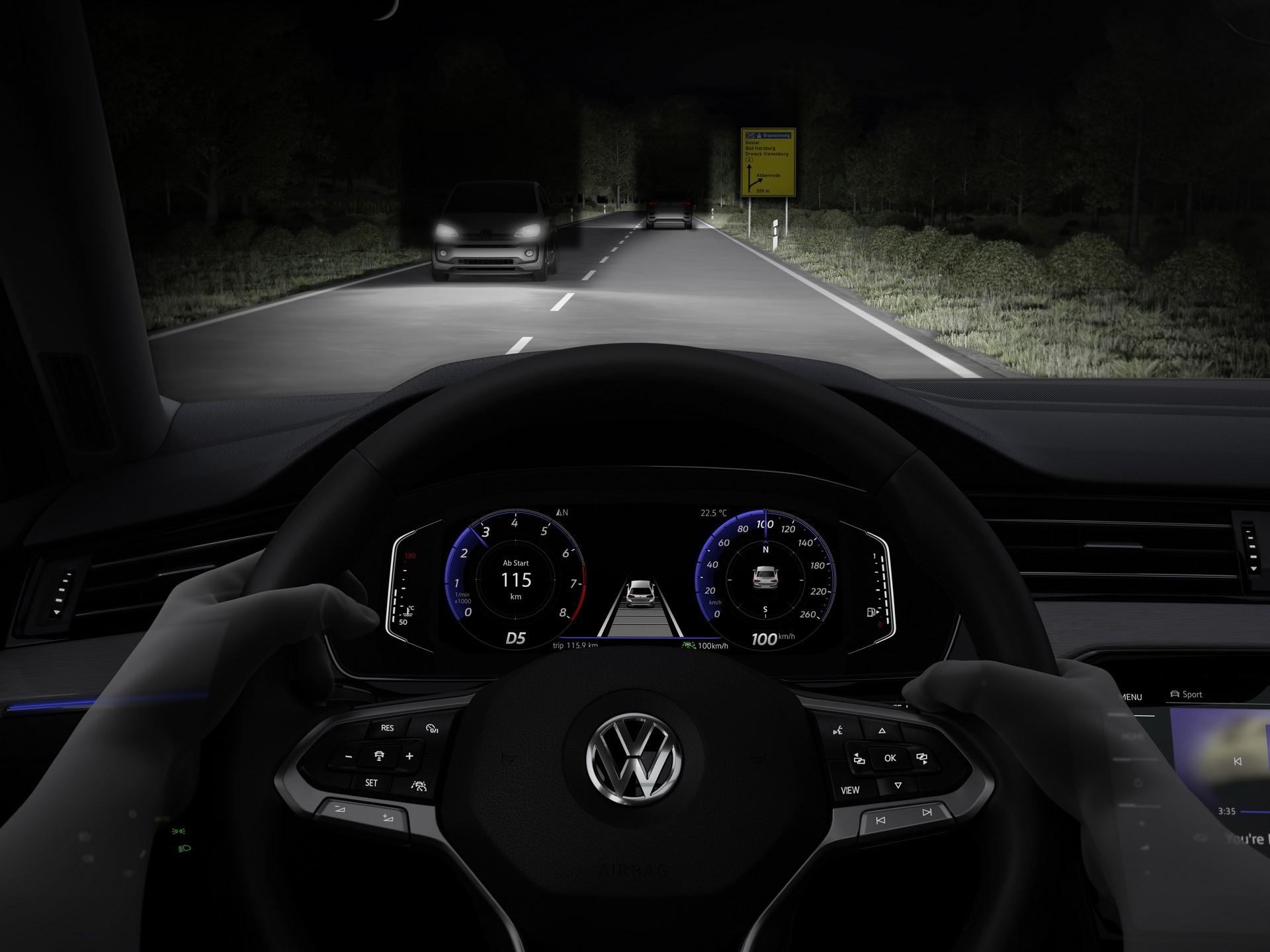 The new Volkswagen Passat Variant