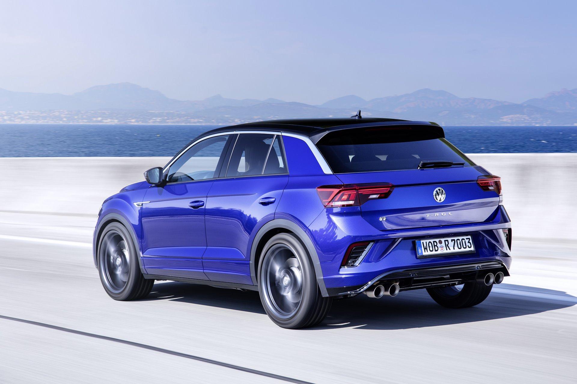 The new Volkswagen T-Roc R