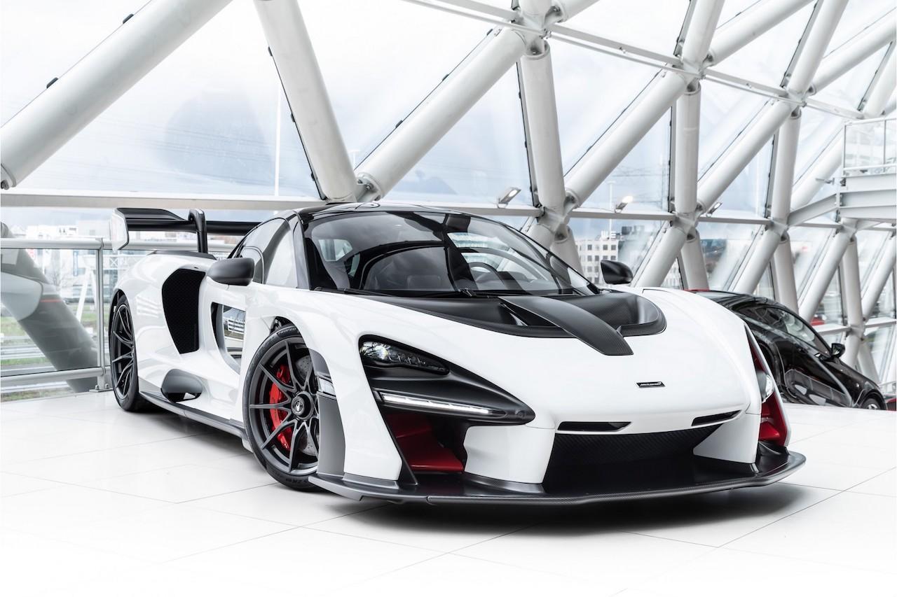 White McLaren Senna for sale (1)