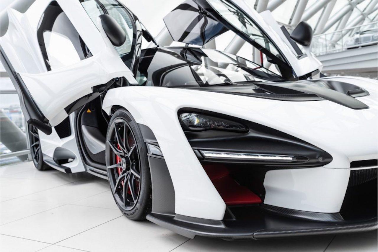 White McLaren Senna for sale (4)