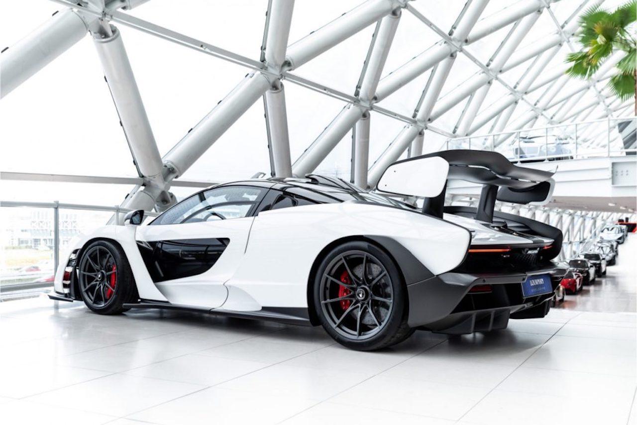 White McLaren Senna for sale (6)