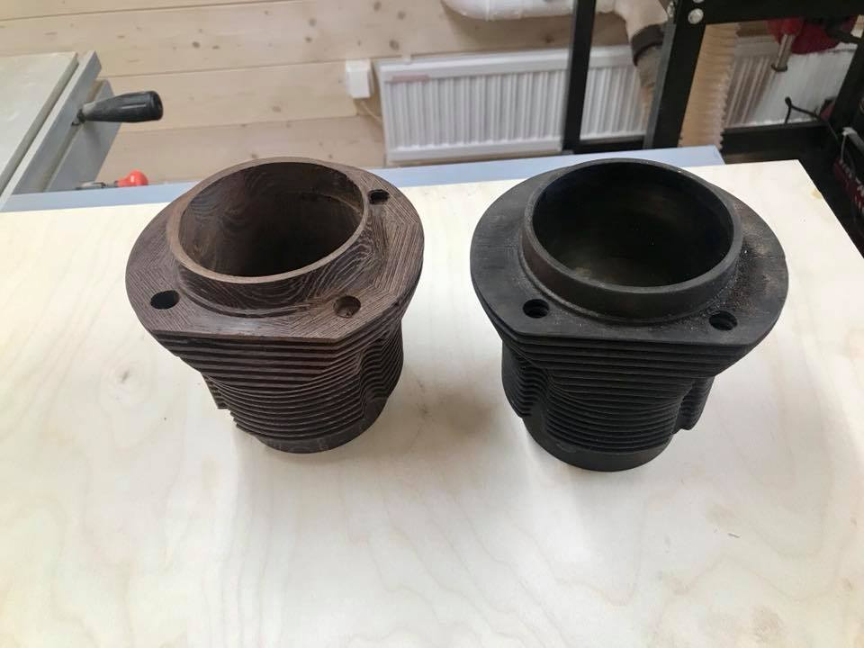 Wooden Volkswagen Engine Wood Art Finland (10)