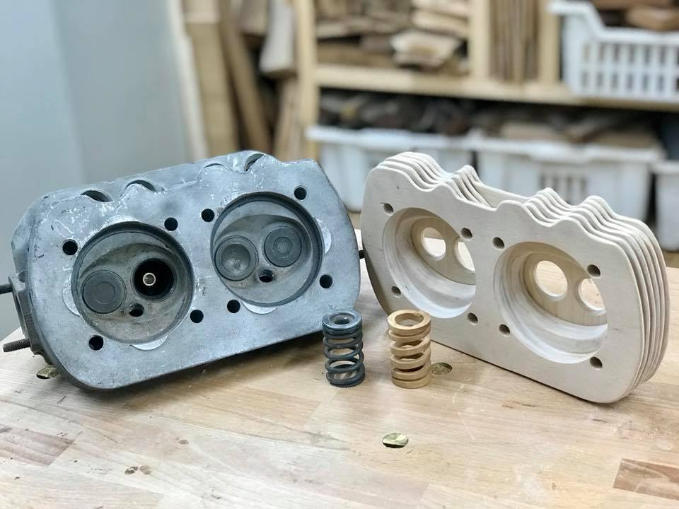 Wooden Volkswagen Engine Wood Art Finland (104)