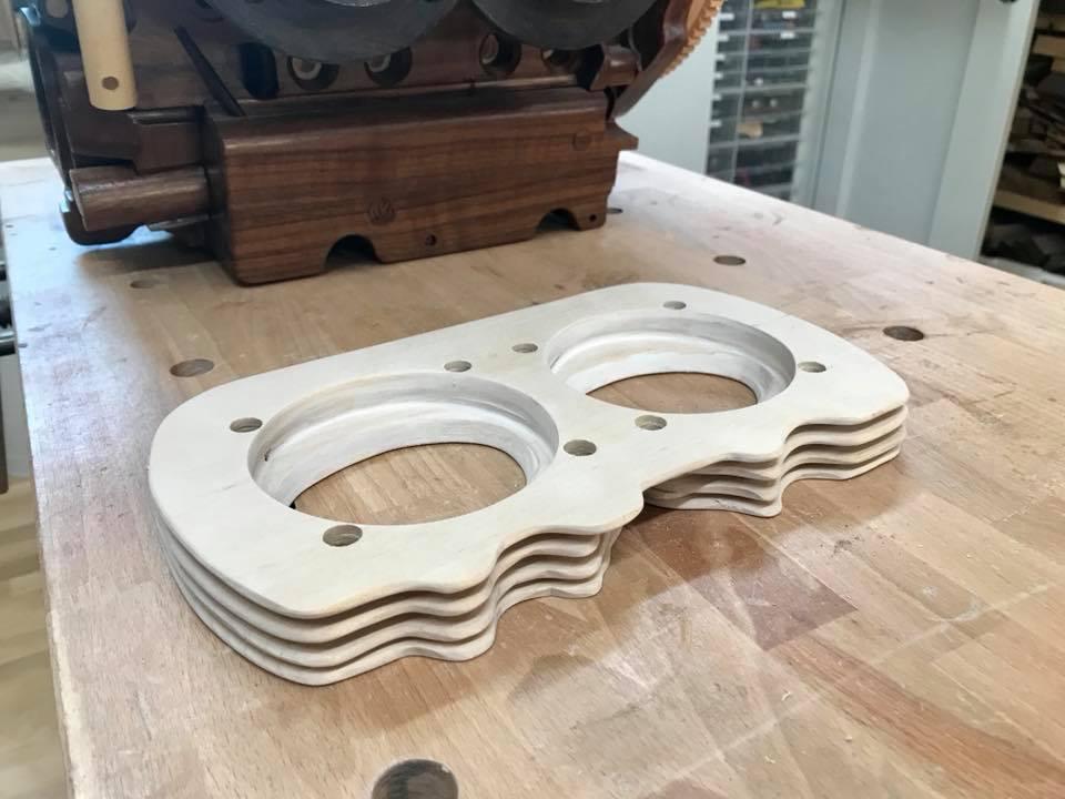 Wooden Volkswagen Engine Wood Art Finland (111)