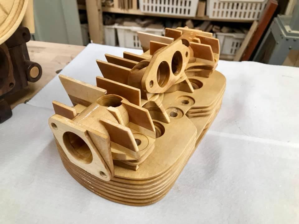 Wooden Volkswagen Engine Wood Art Finland (161)