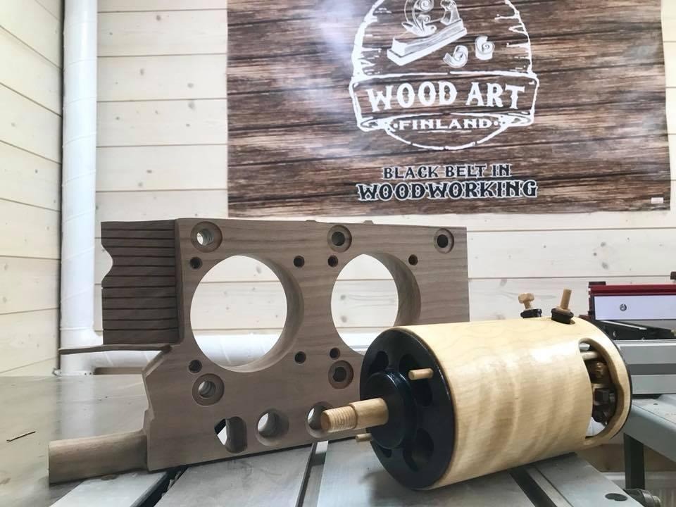 Wooden Volkswagen Engine Wood Art Finland (195)
