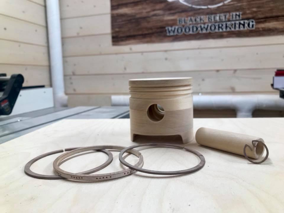 Wooden Volkswagen Engine Wood Art Finland (236)