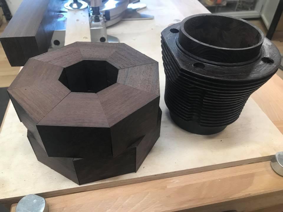 Wooden Volkswagen Engine Wood Art Finland (50)