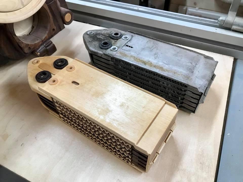 Wooden Volkswagen Engine Wood Art Finland (69)