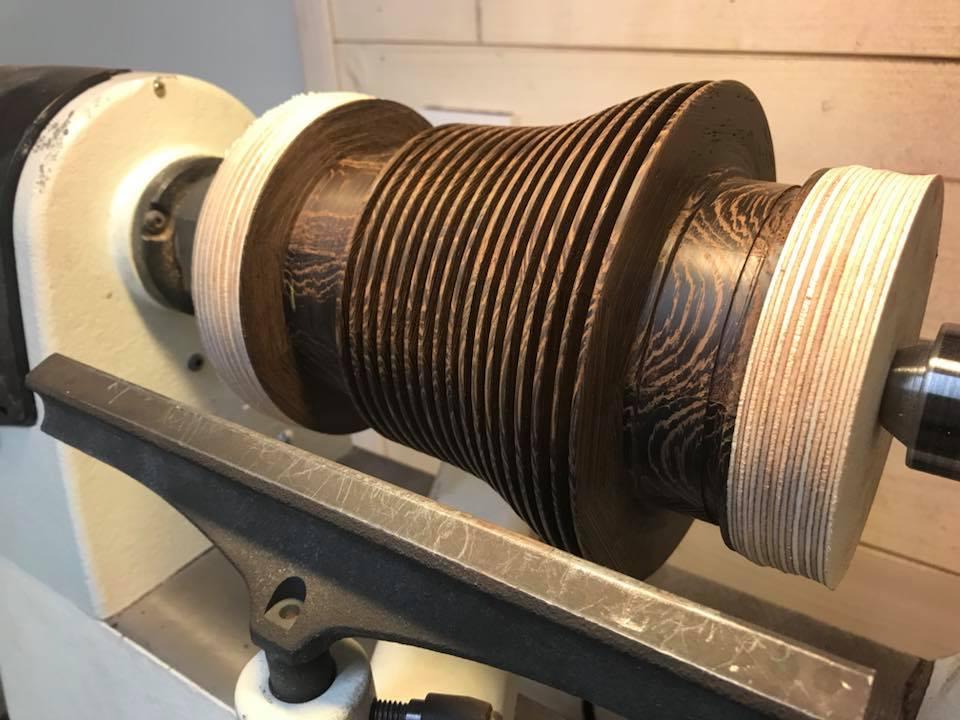 Wooden Volkswagen Engine Wood Art Finland (8)