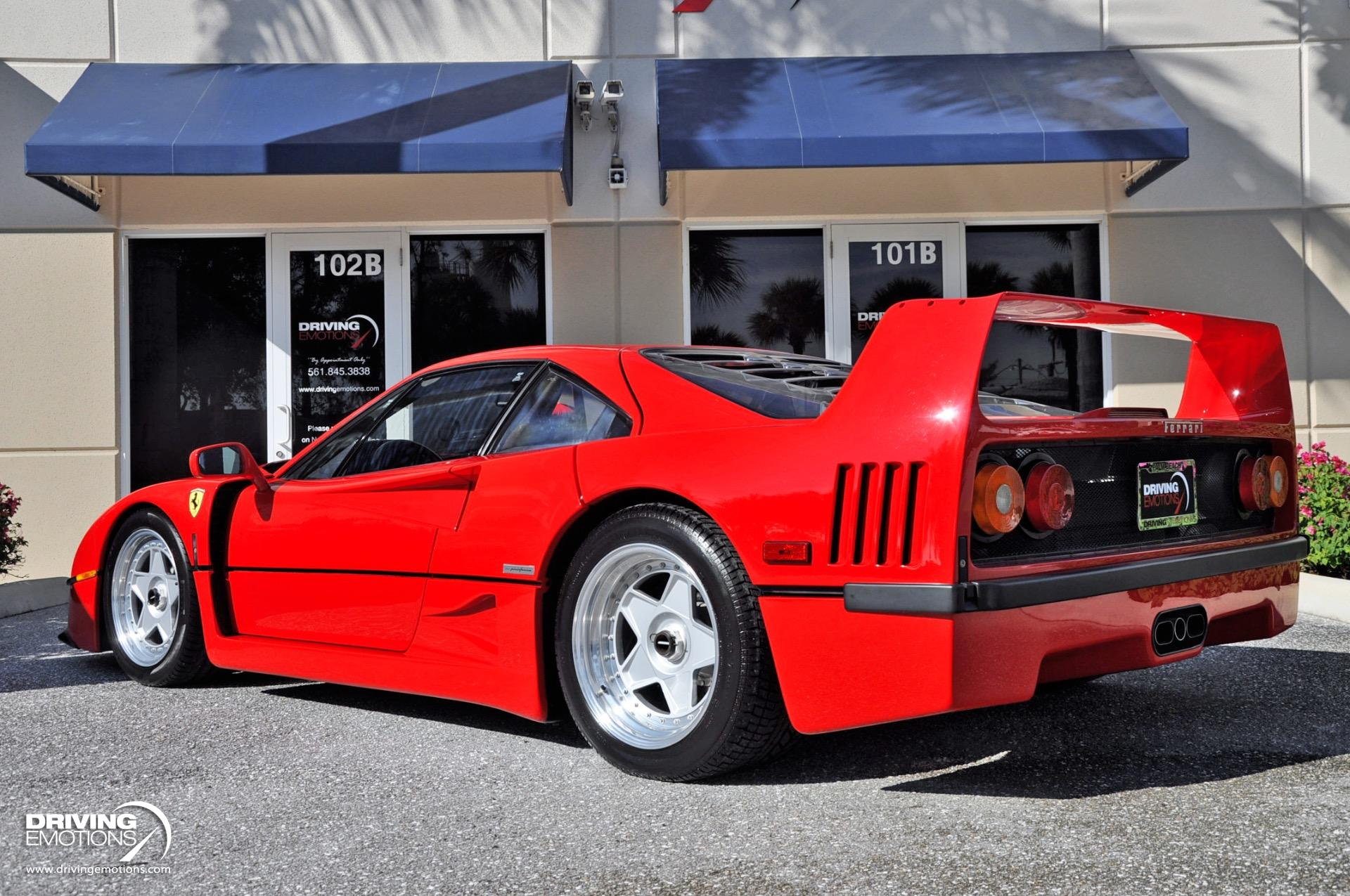 1992_Ferrari-F40_sale_0025