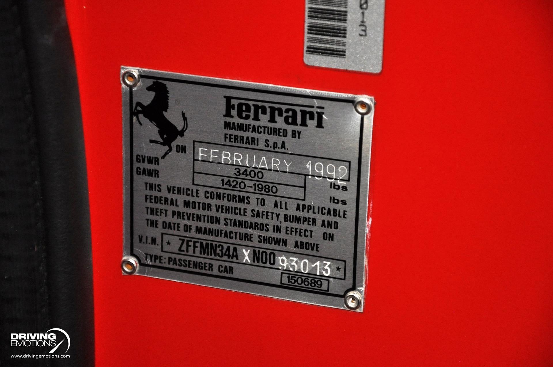 1992_Ferrari-F40_sale_0090