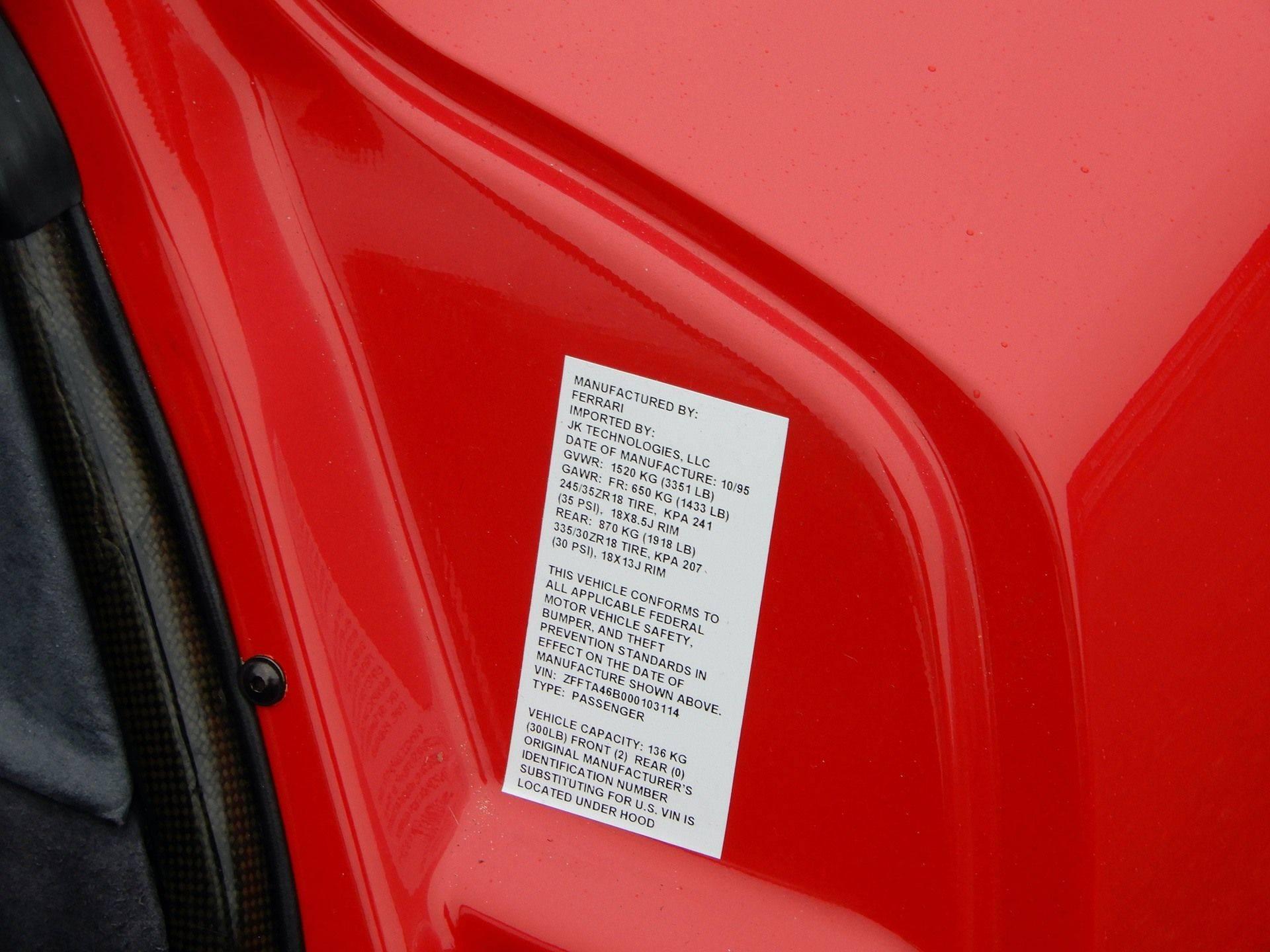 1995_Ferrari_F50_sale_0027