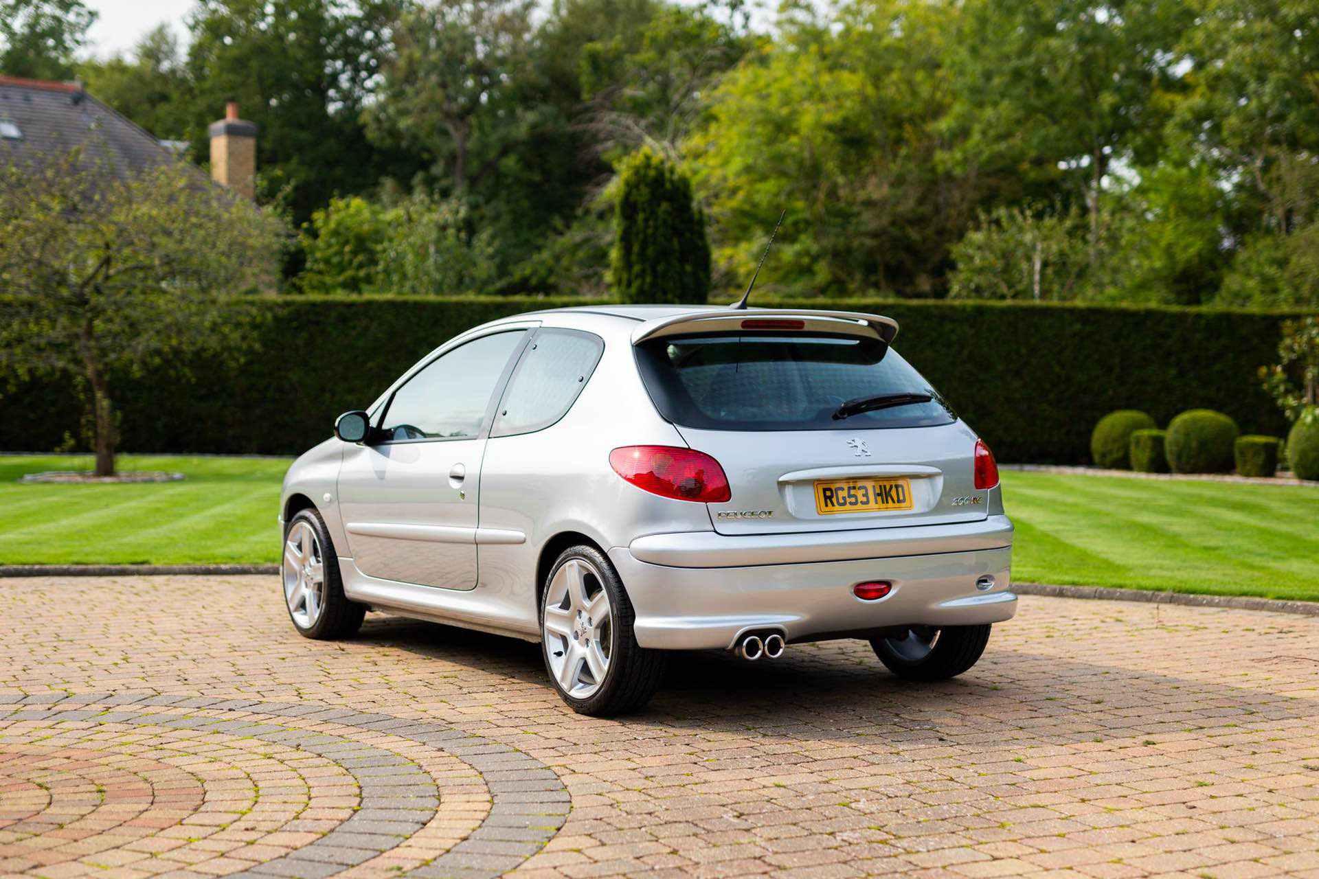 2003_Peugeot_206_RC_sale_0014