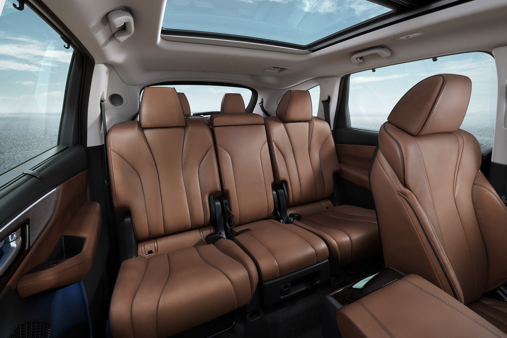 2022 SH-AWD Advance Espresso Interior Second Row Seats Interior Static