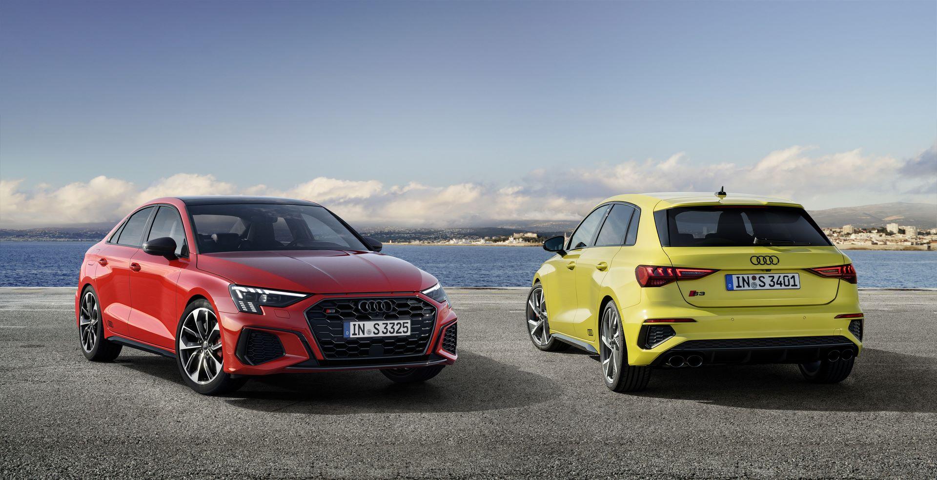 Audi S3 Sedan; Audi S3 Sportback