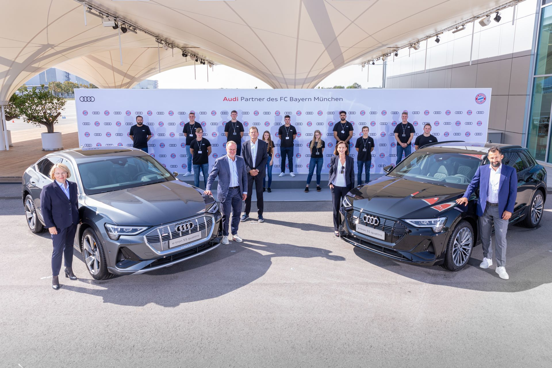Audi electrifies FC Bayern Munich
