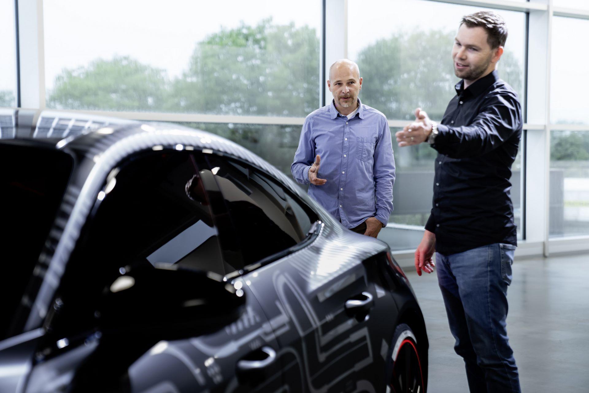 e-Sound of the Audi e-tron GT