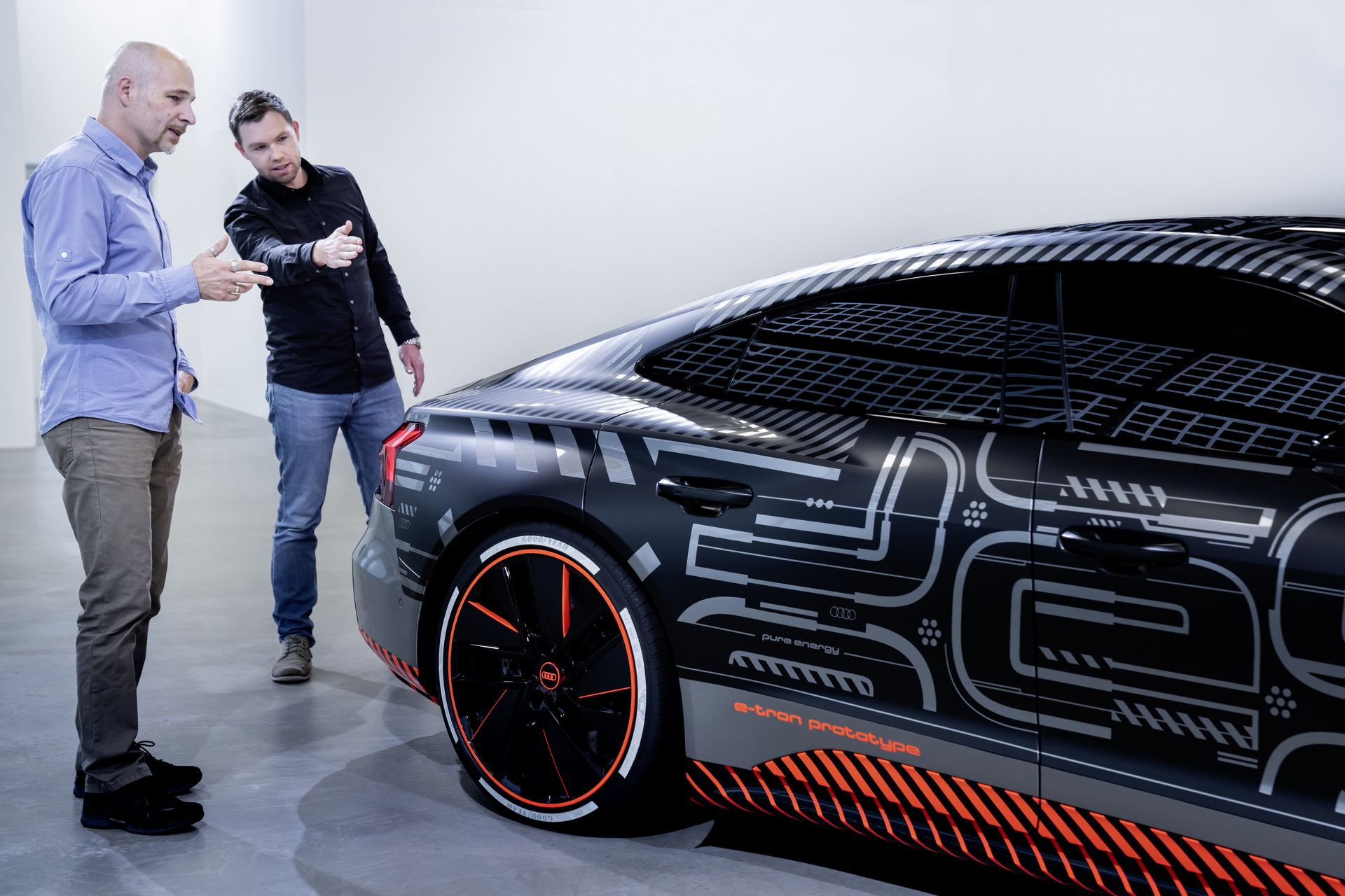 e-Sound of the Audi e-tron GT