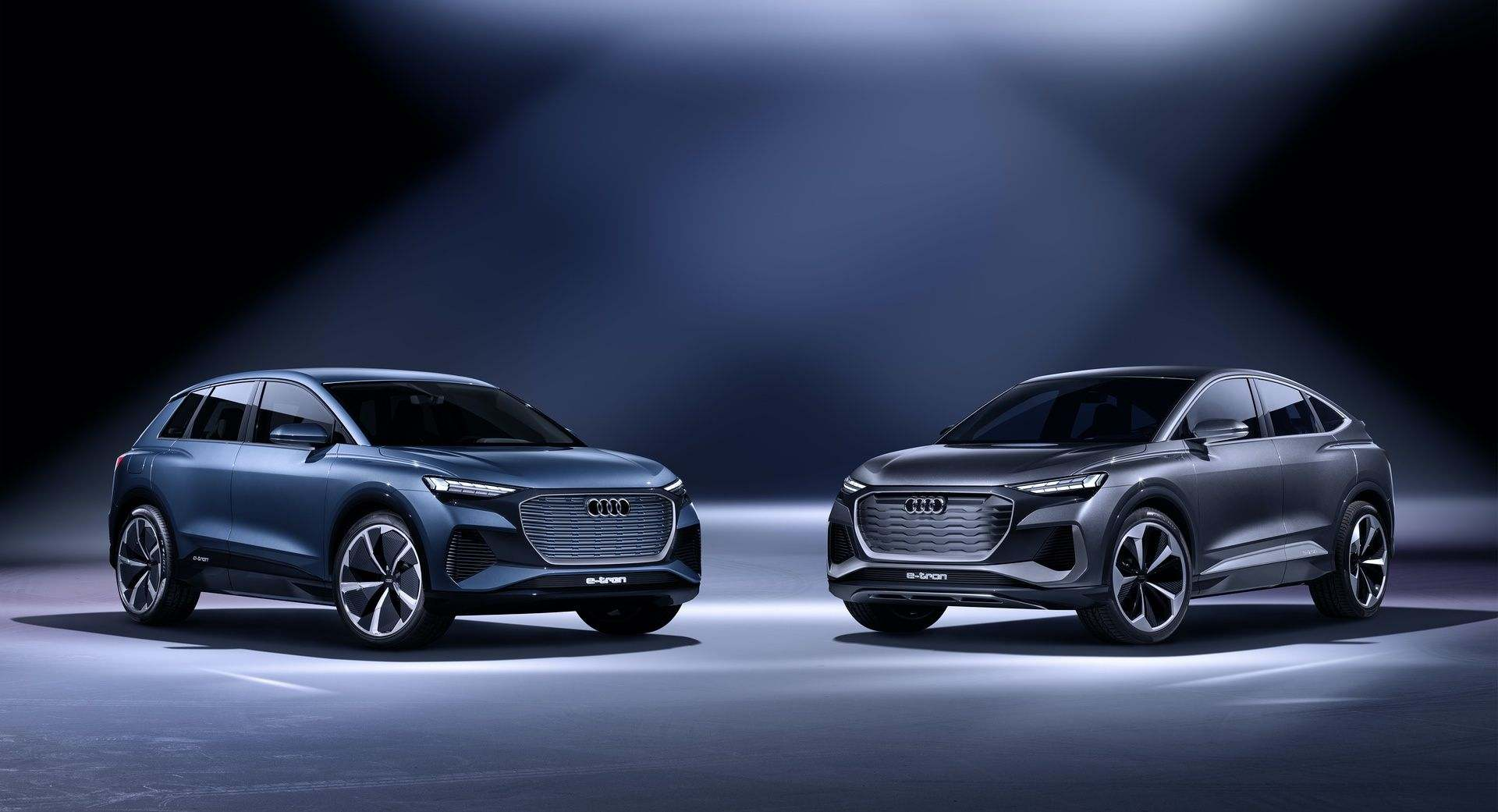 Audi Q4 e-tron concept / Audi Q4 Sportback e-tron concept