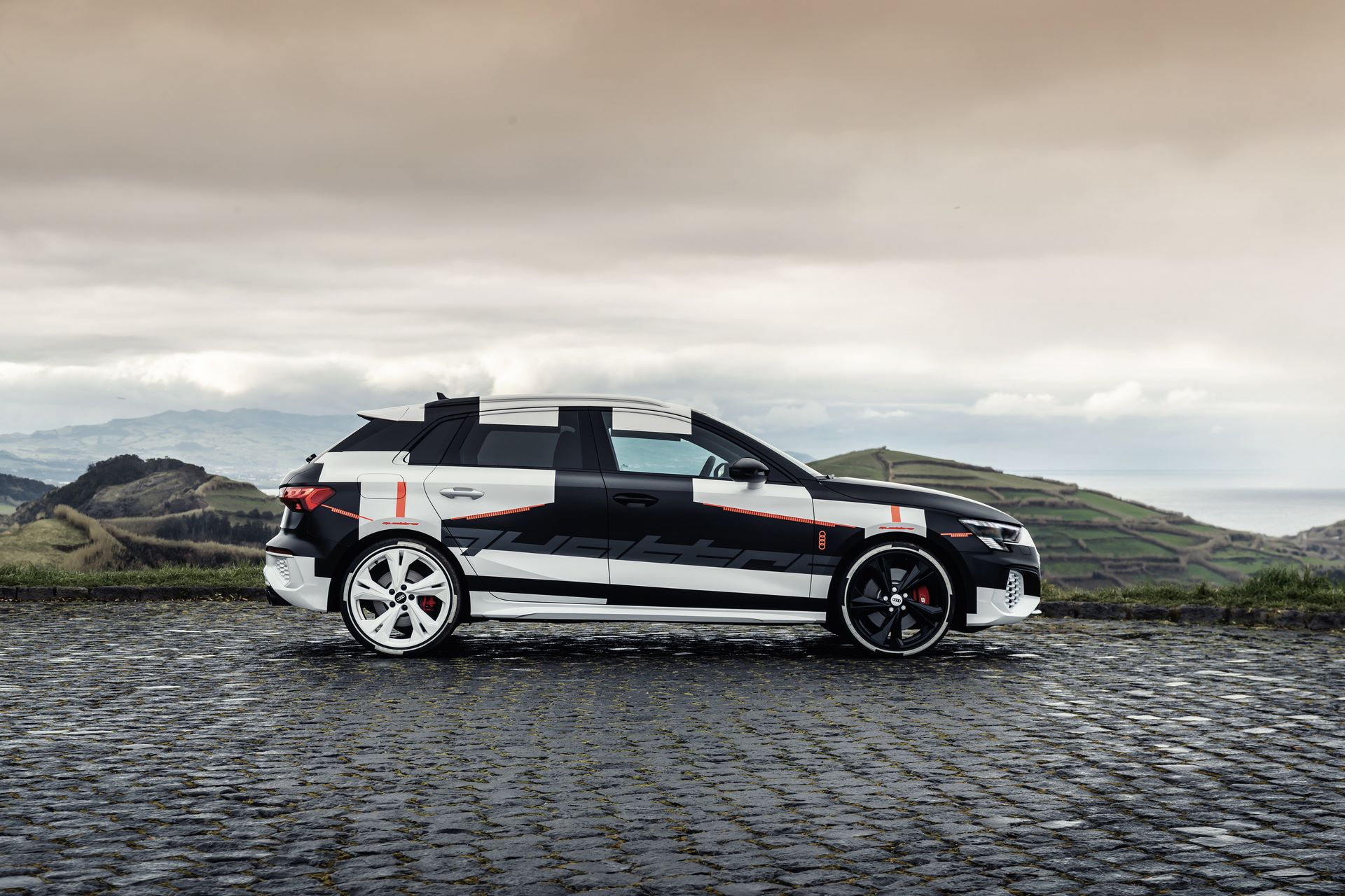 Audi A3 Sportback Prototype Covered Drive