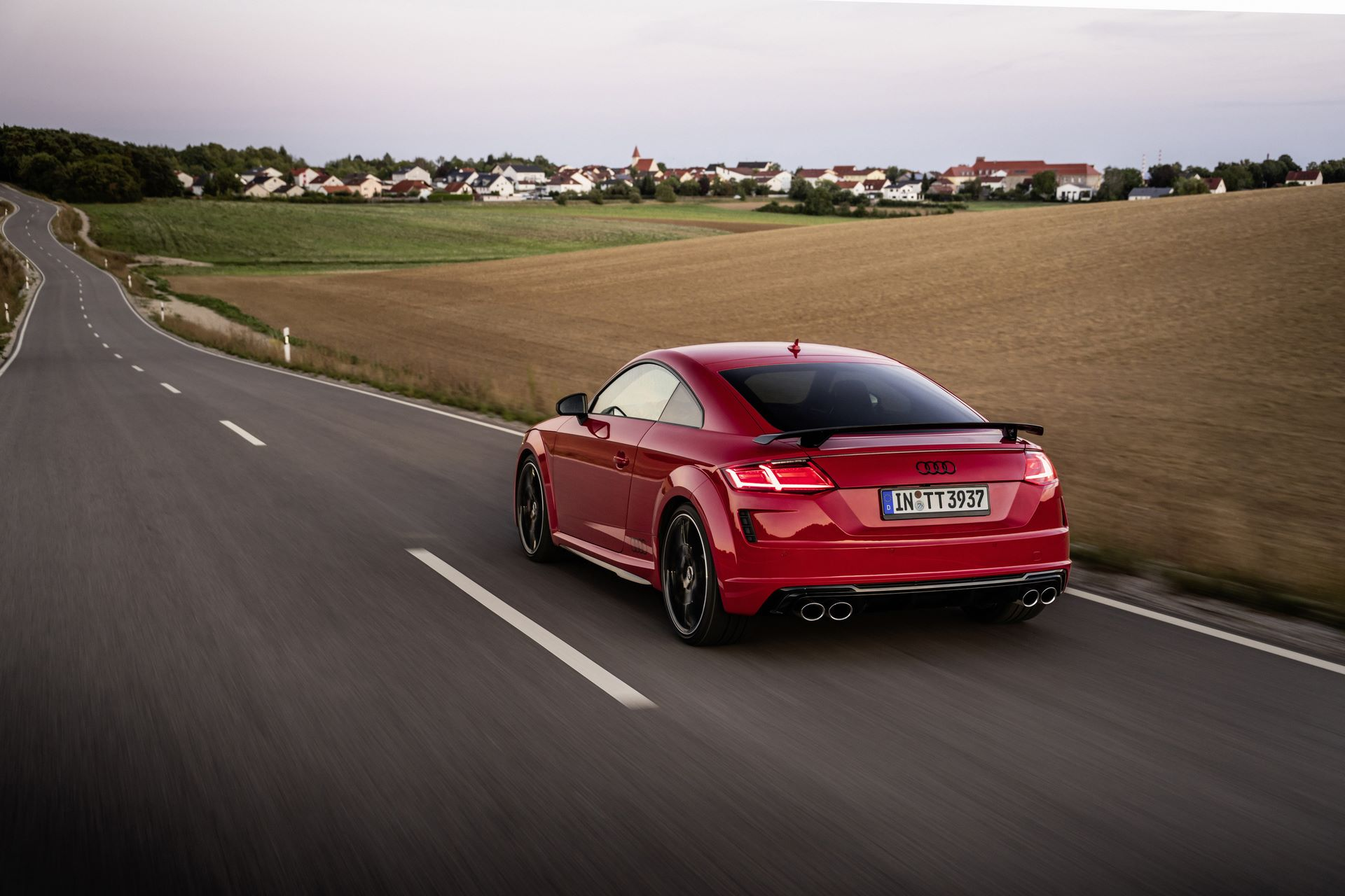 Audi TTS Coupé competition plus