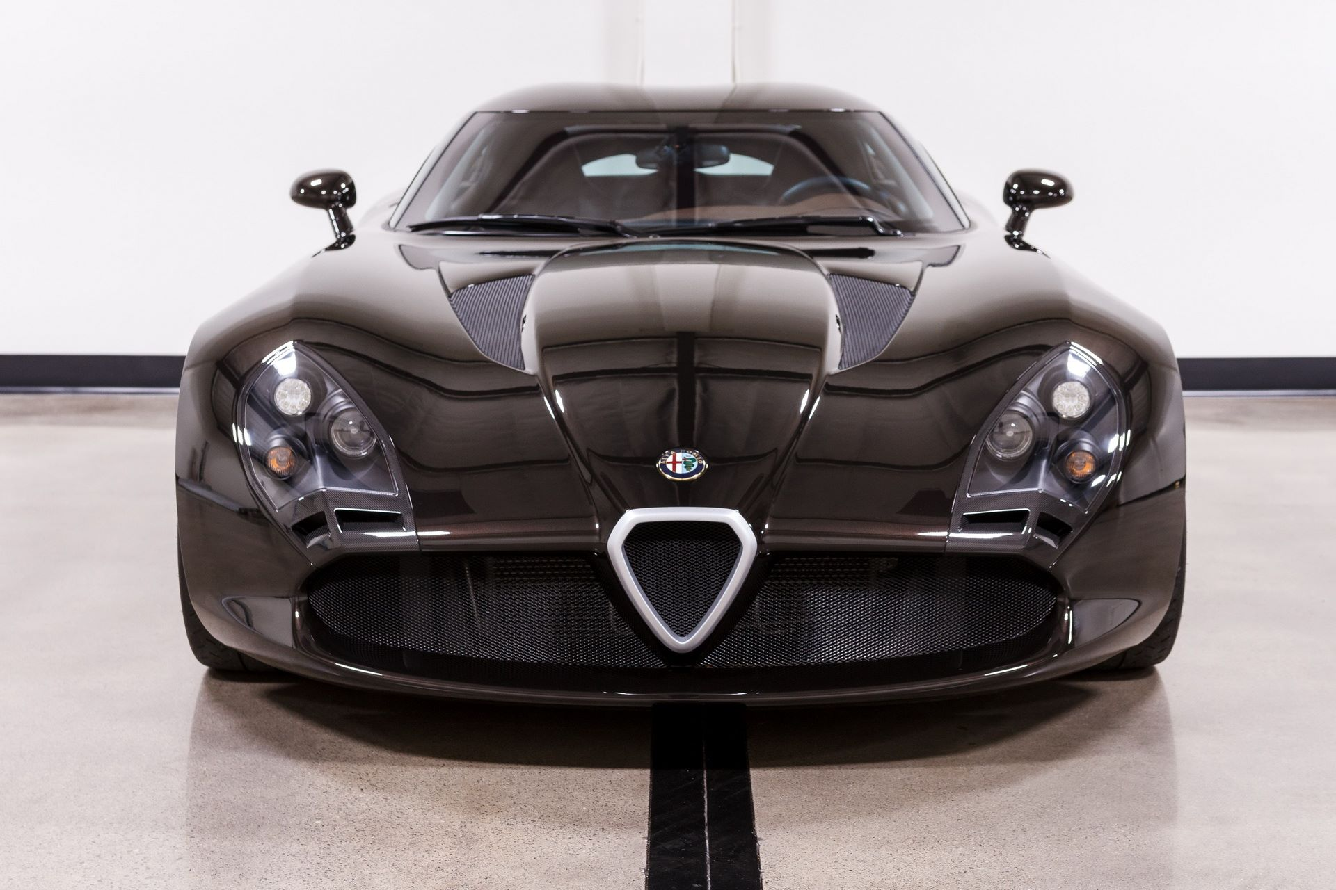 Black-Alfa-Romeo-TZ3-Stradale-Zagato-for-sale-1