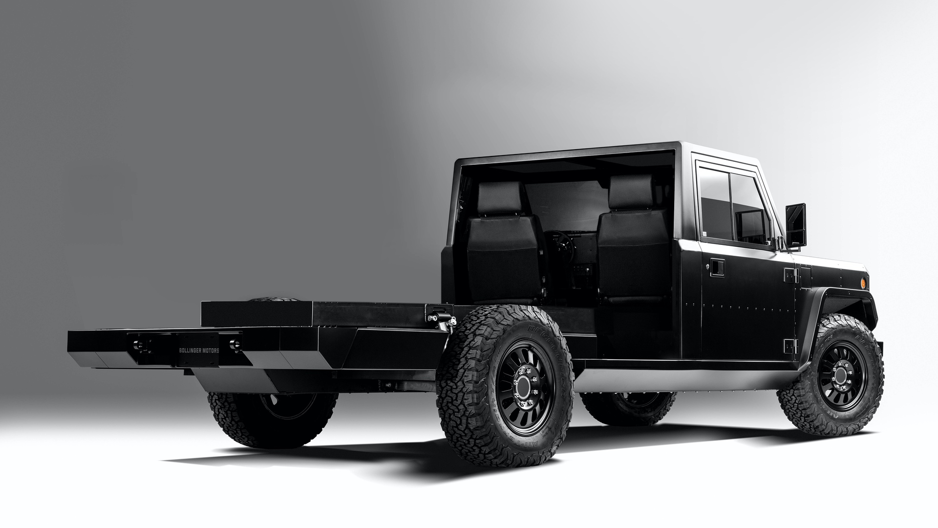 Bollinger-Motors-B2-Chassis-Cab-2-Door-3_4-Rear-Open
