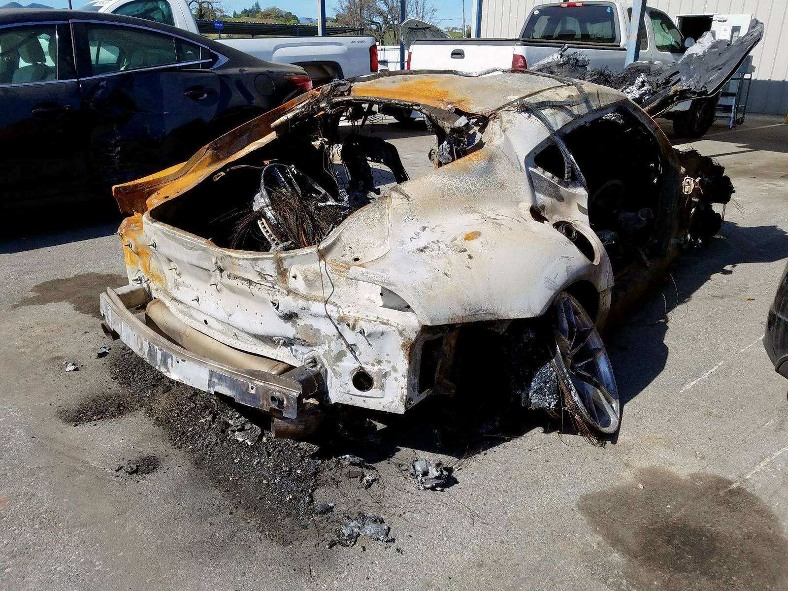 Burned-Toyota-Supra-for-sale-9