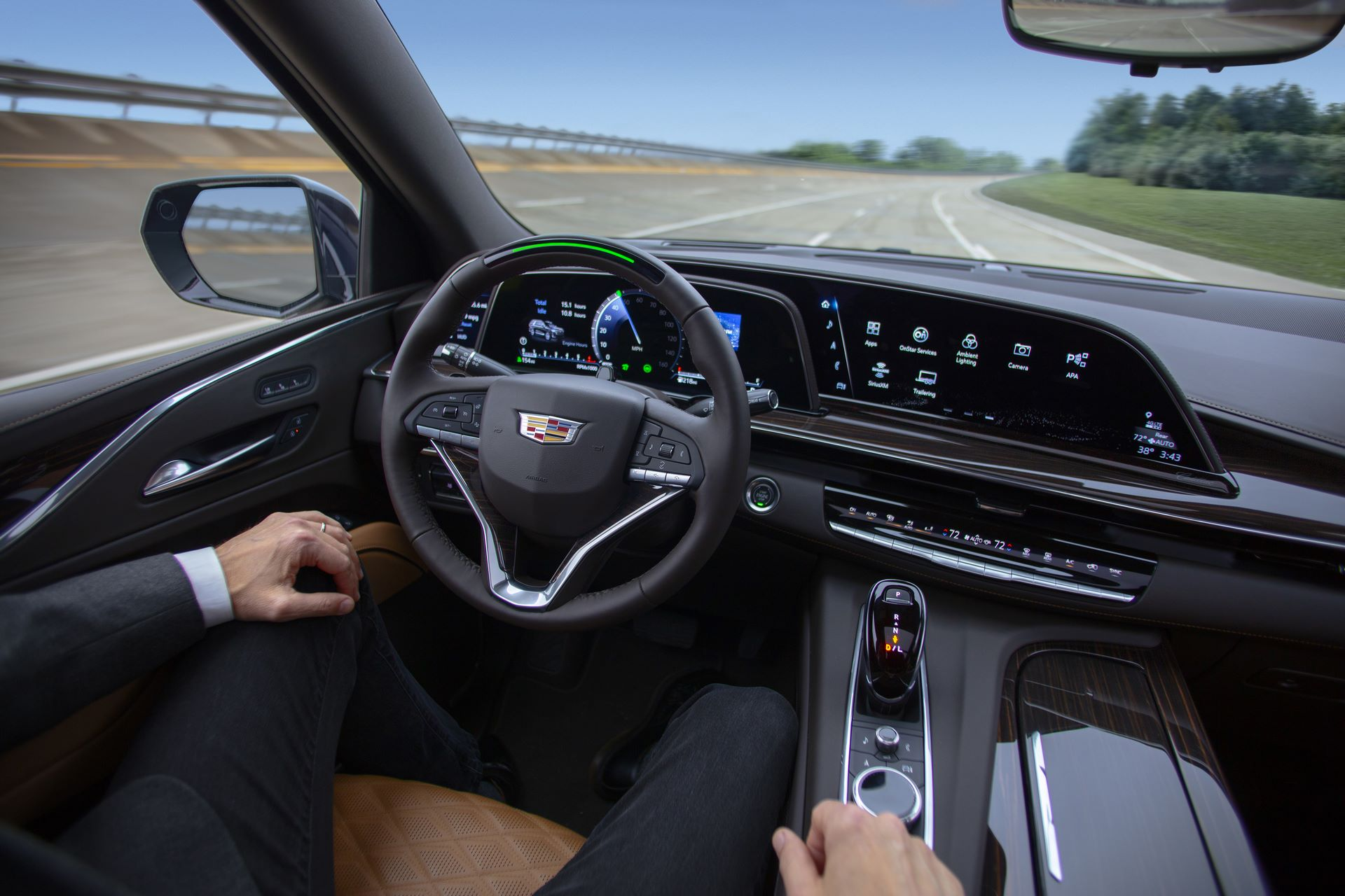 Super Cruise enables hands-free driving on more than 200,000 miles of compatible highways in the United States and Canada.