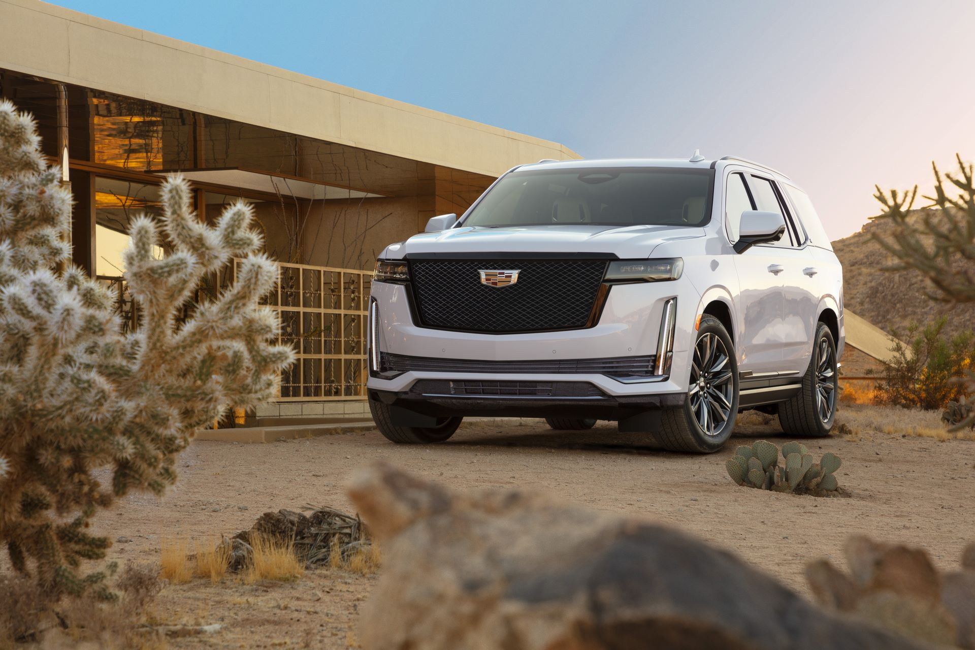 The 2021 Escalade has the bold presence and exclusive technology to elevate the extraordinary and make every drive feel like an occasion.
