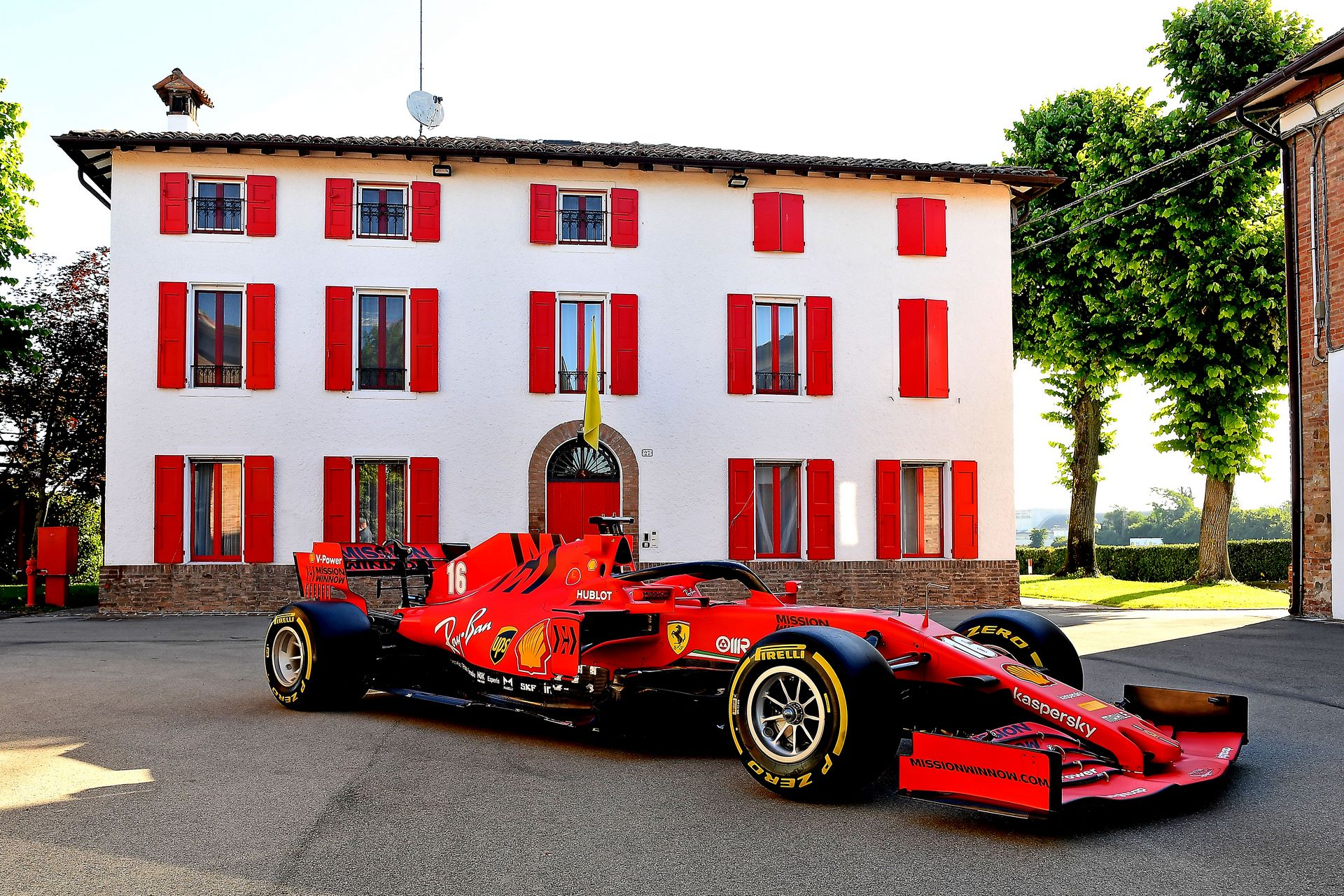 MARANELLO 18/06/2020 - STREET DEMO SF1000 / CHARLES LECLERC credit: © Scuderia Ferrari Press Office