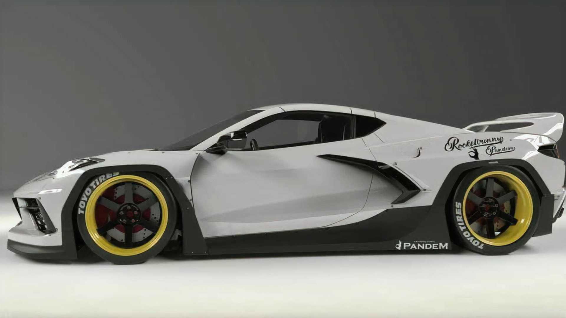 Chevrolet-Corvette-C8-with-Pandem-Rocket-Bunny-bodykit-3