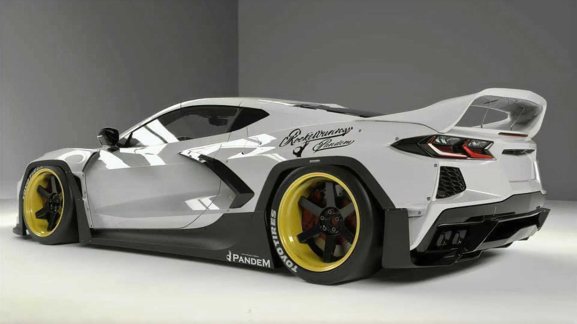 Chevrolet-Corvette-C8-with-Pandem-Rocket-Bunny-bodykit-4