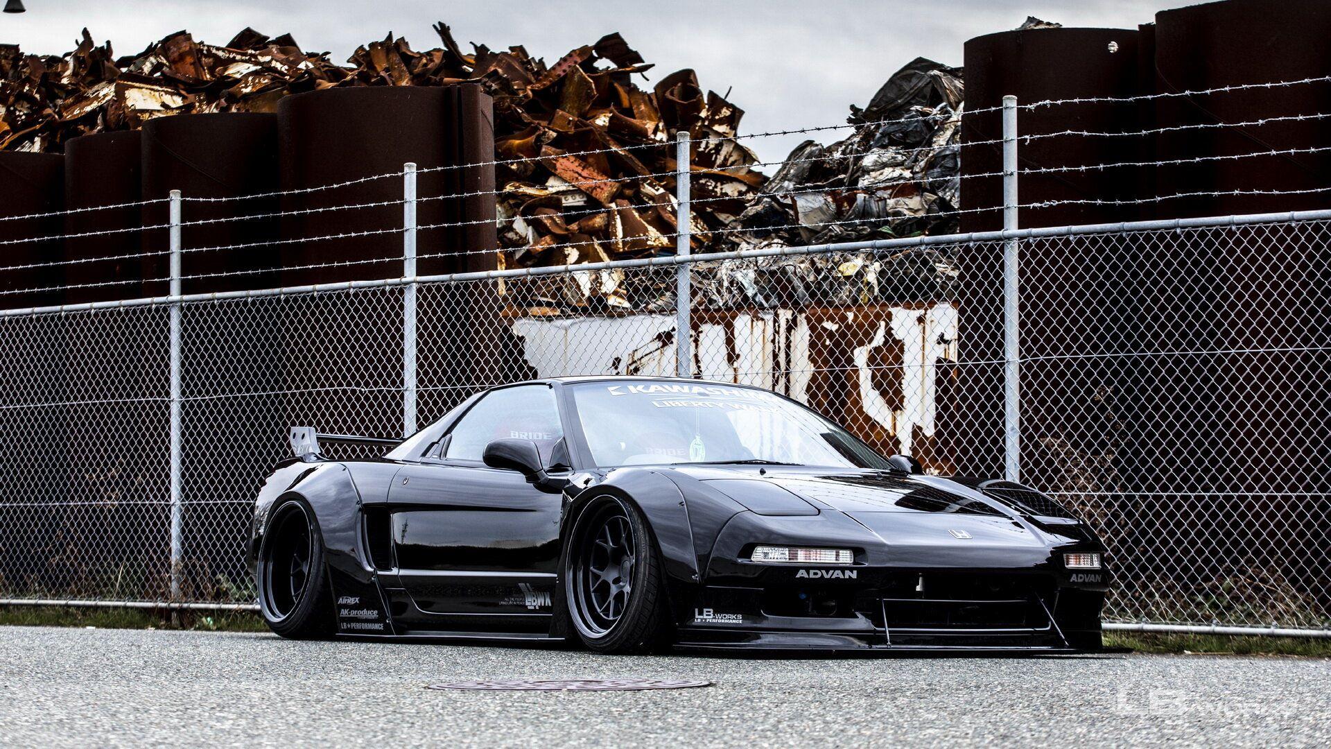 First-gen-Honda-NSX-by-Liberty-Walk-2