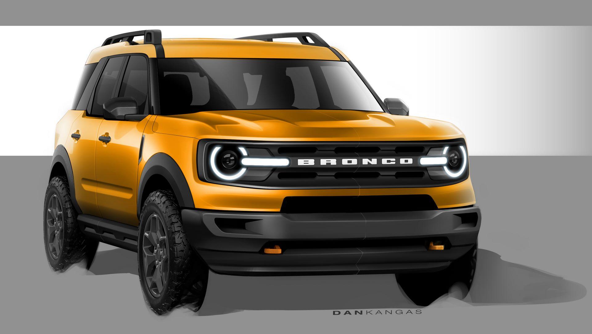 2021 Bronco Sport Design