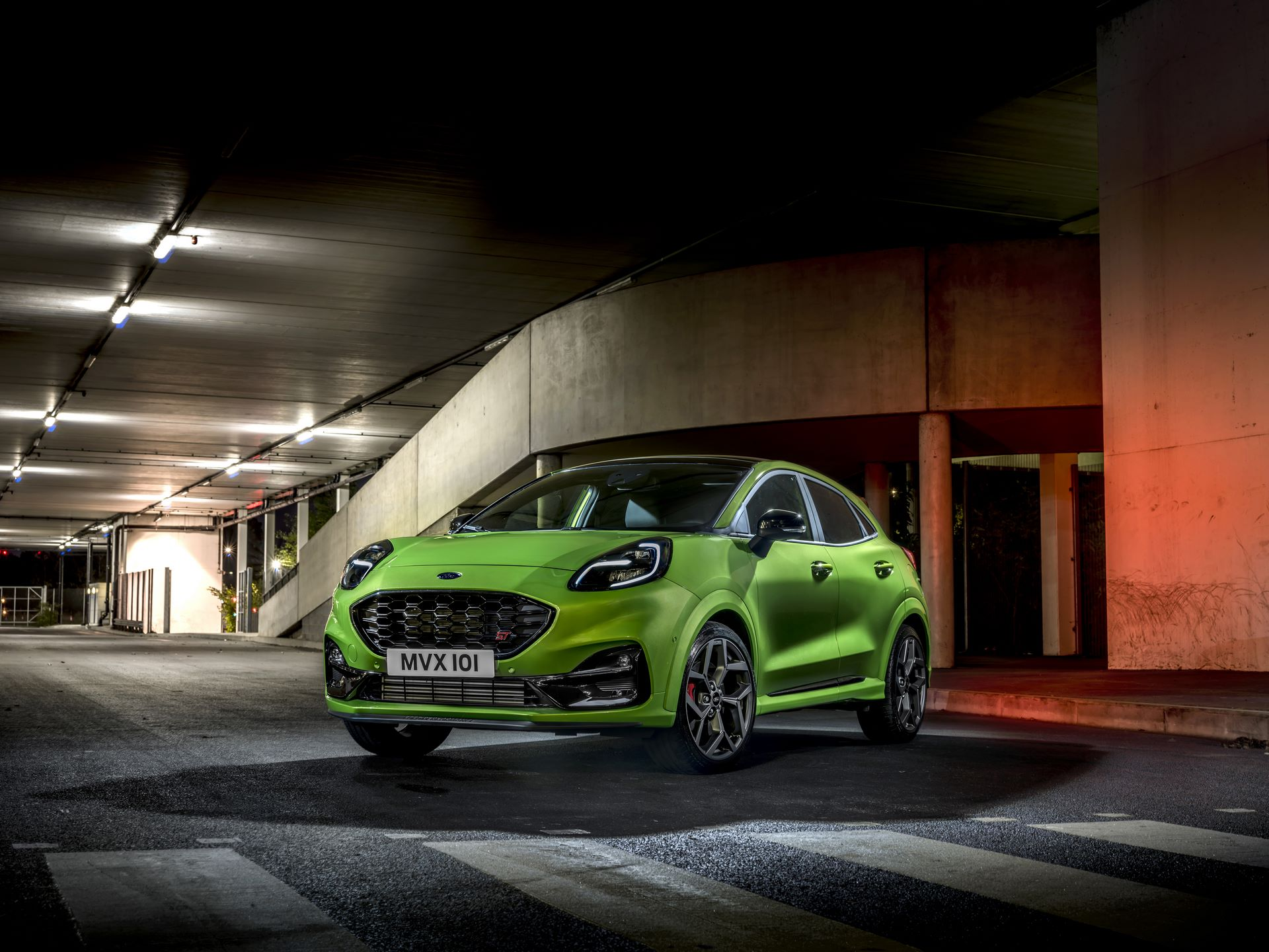 Ford's First Performance SUV in Europe: All-New Puma ST Delivers Thrills for Your Heart with Utility for Your Head