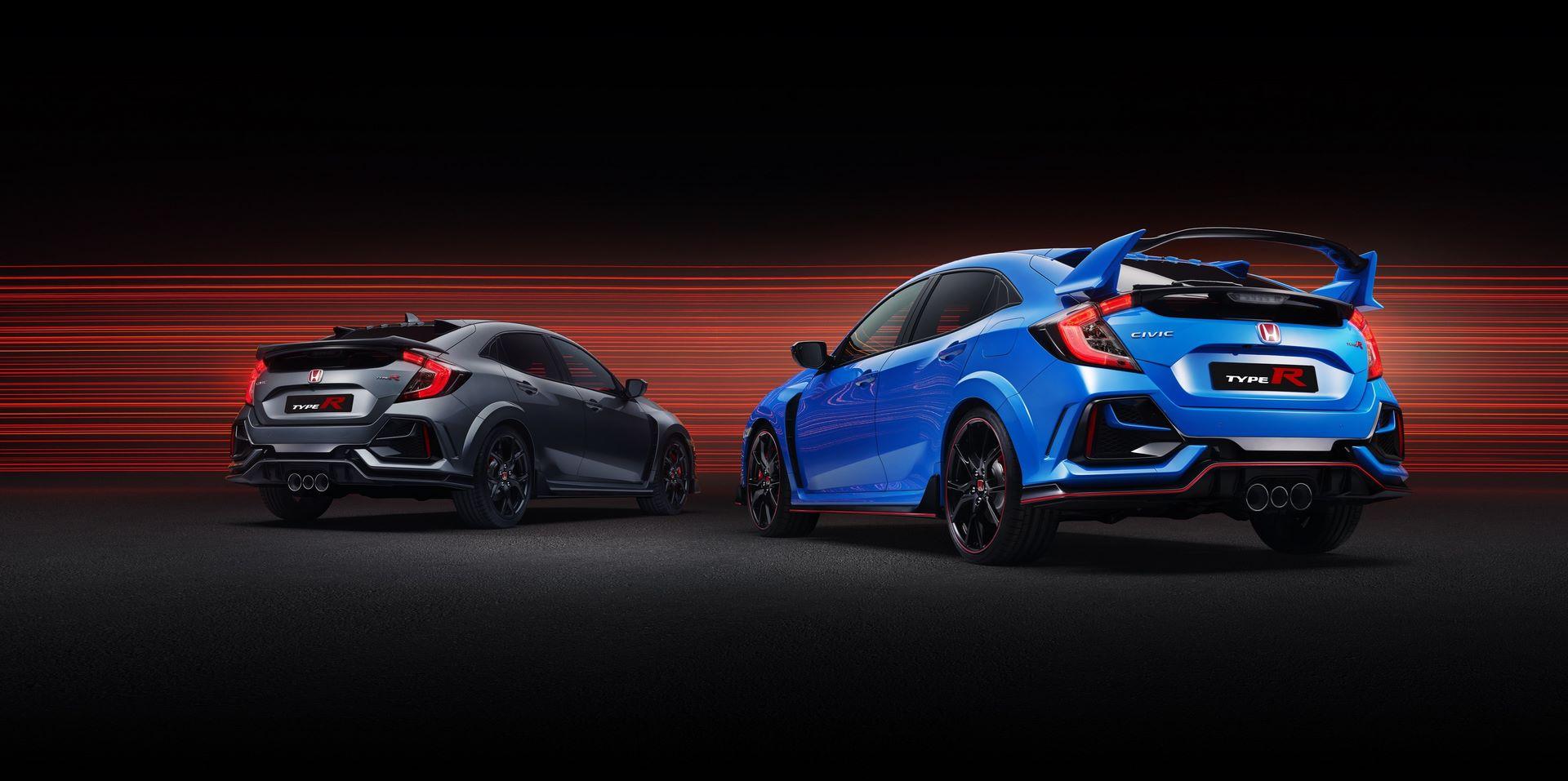 2020 Civic Type R Range - Type R Sport Line & Type R GT