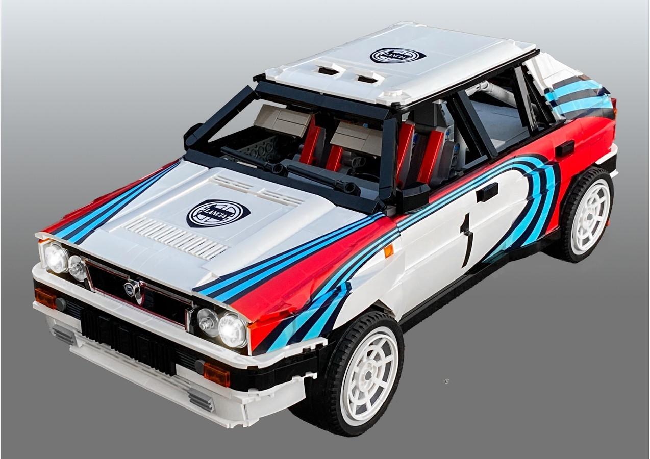 LEGO_Lancia_Delta_Integrale_Rally_Car_0003