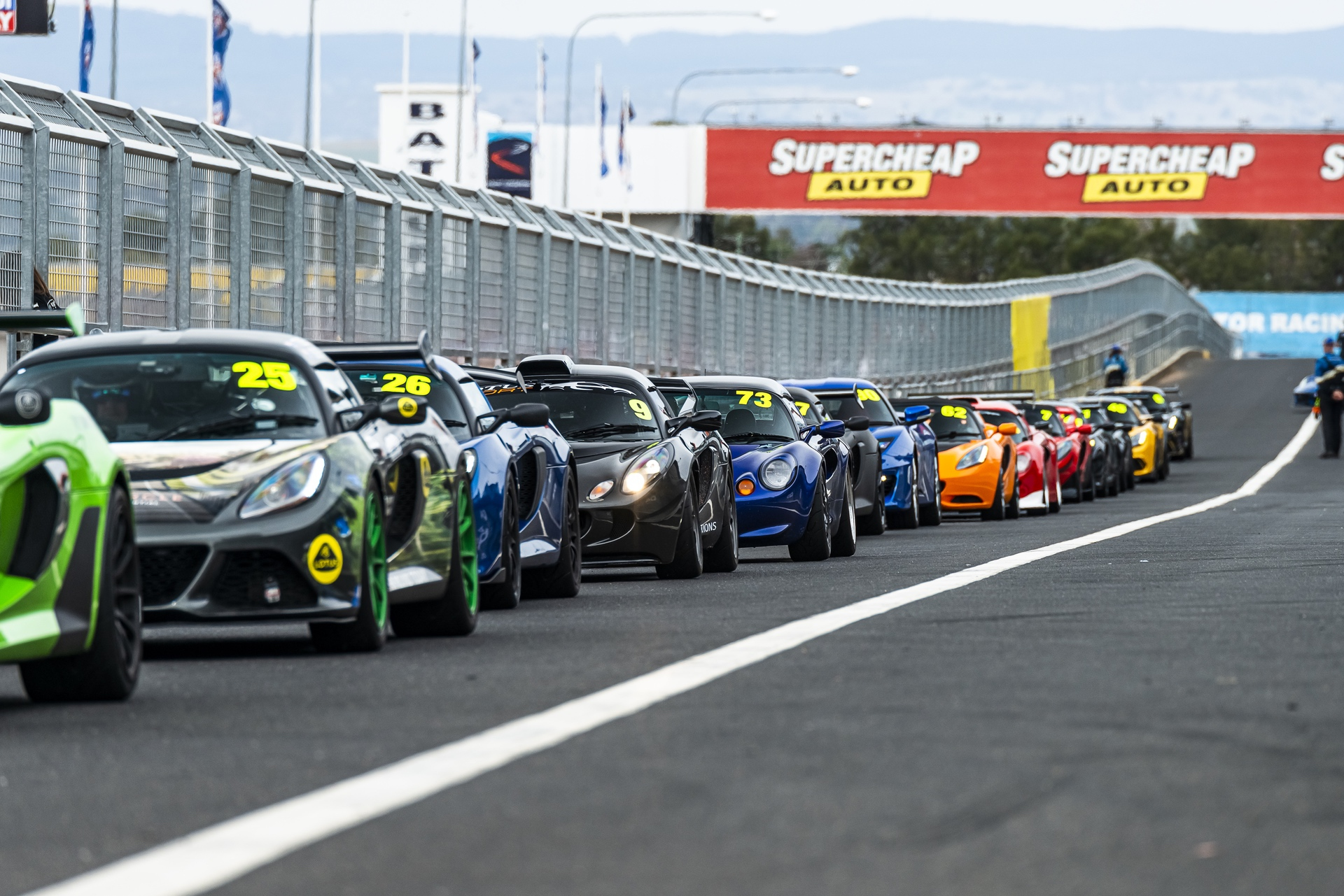 Lotus Cars Australia Bathurst Track Day 2020