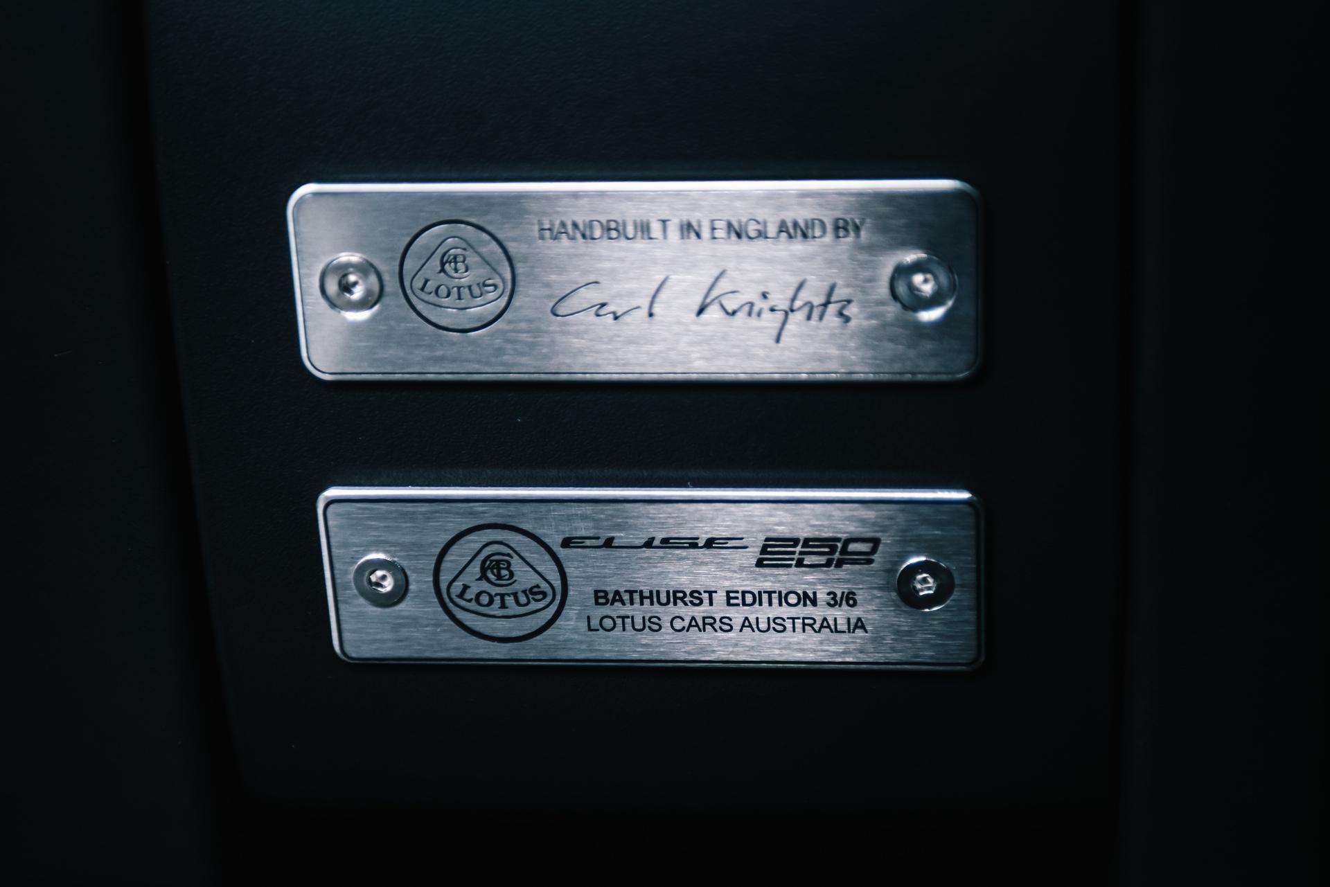 Bathurst Edition Lotus Elise CUP 250