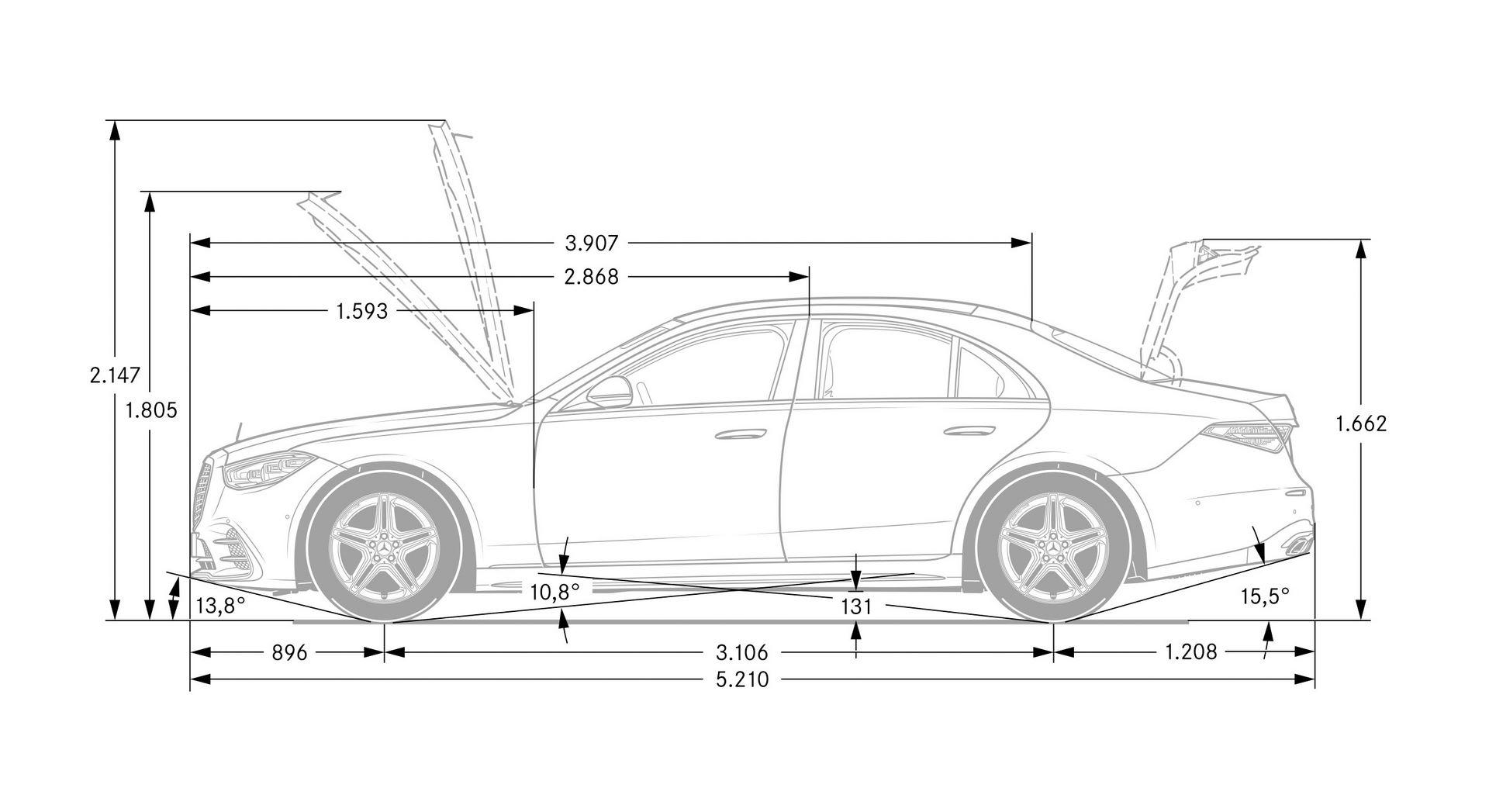 Mercedes-Benz S-Klasse, W223, 2020