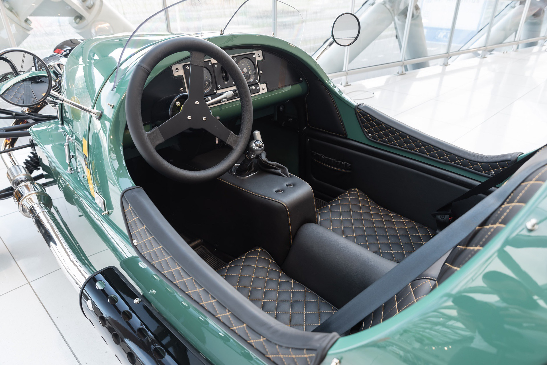 Morgan-3Wheeler-groen-6805